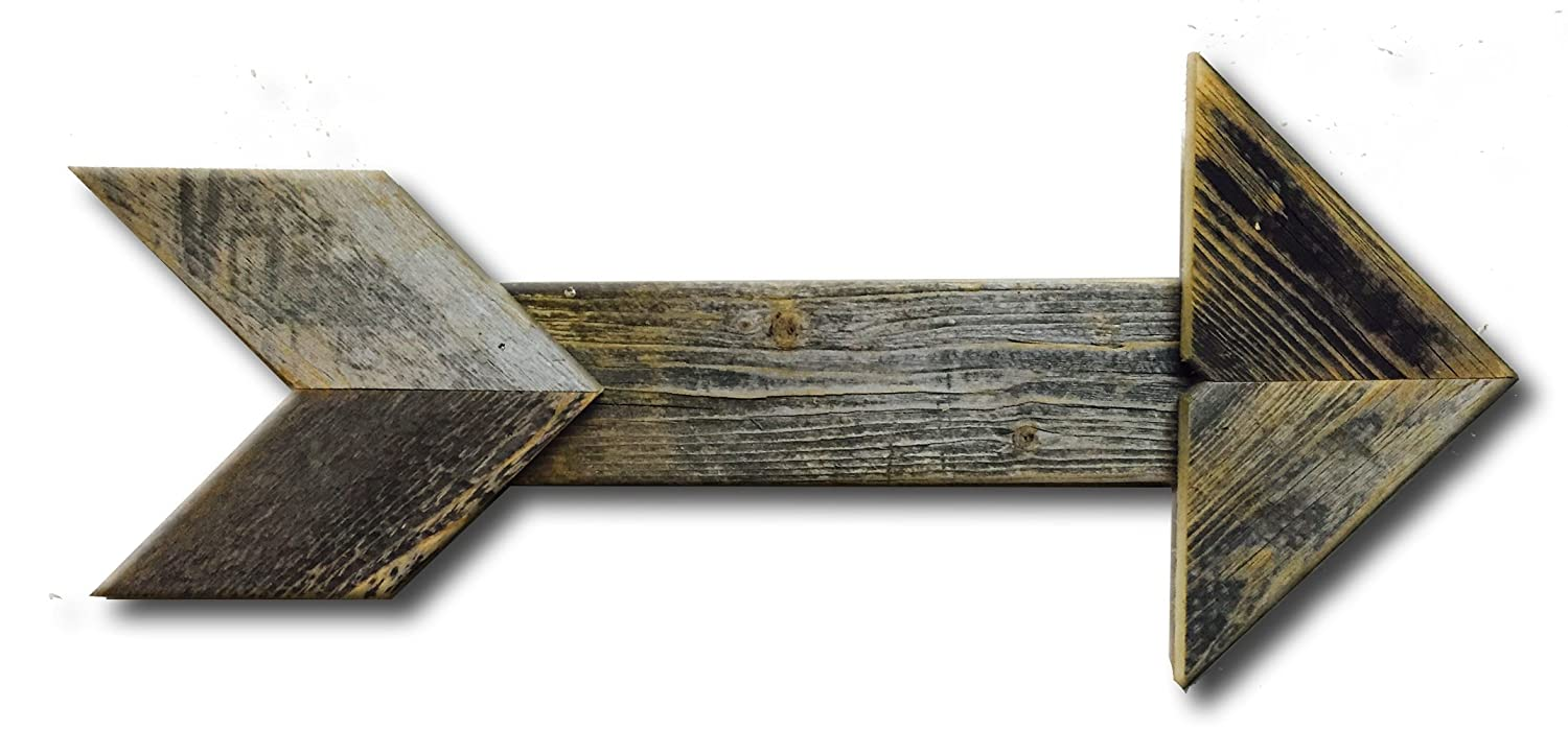 Wooden Arrow Points This Way for Rustic Charm
