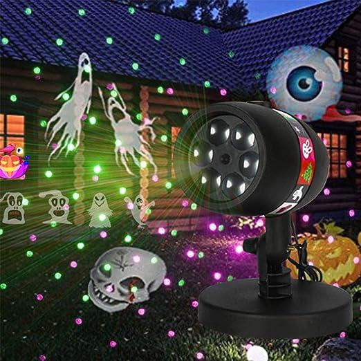 EFGS Proyector De Luz LED De Navidad, Luz De Nevadas De Luz ...