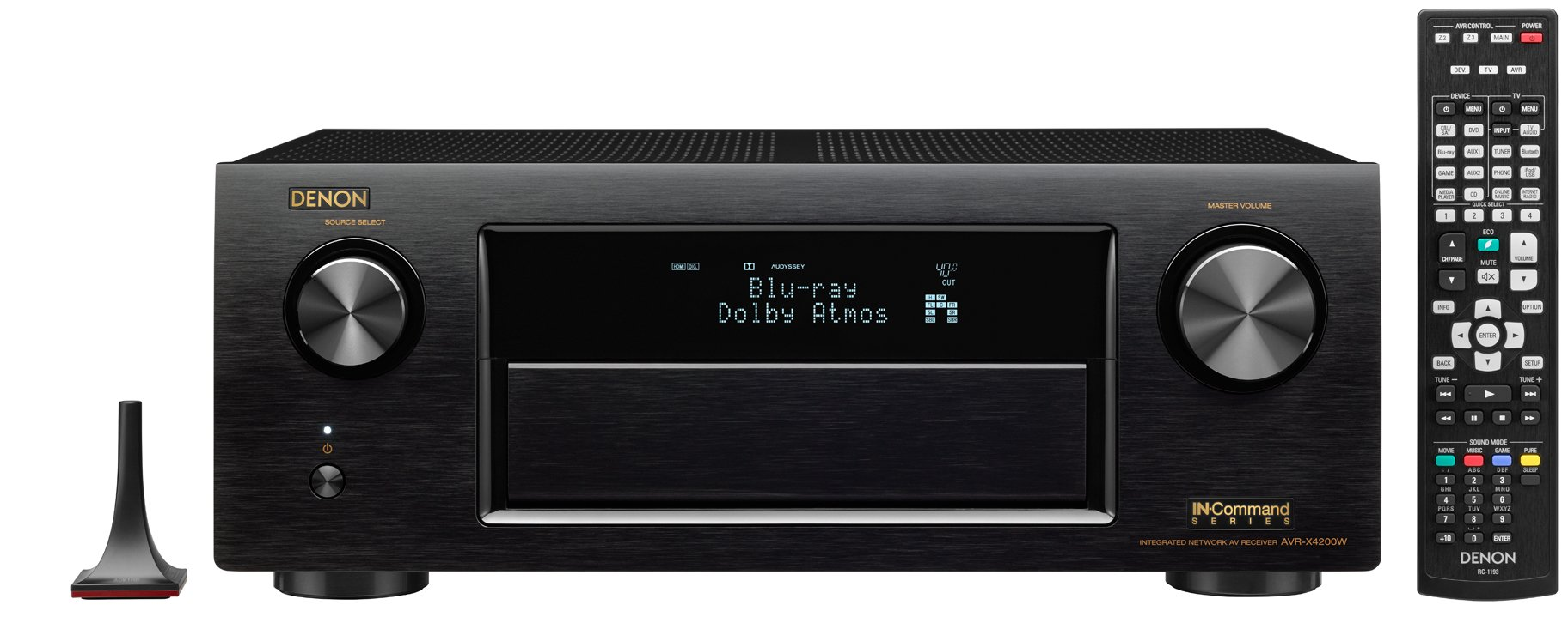 Denon AVRX4200W 7.2 Channel Full 4K Ultra HD AV Receiver with Bluetooth and Wi-Fi