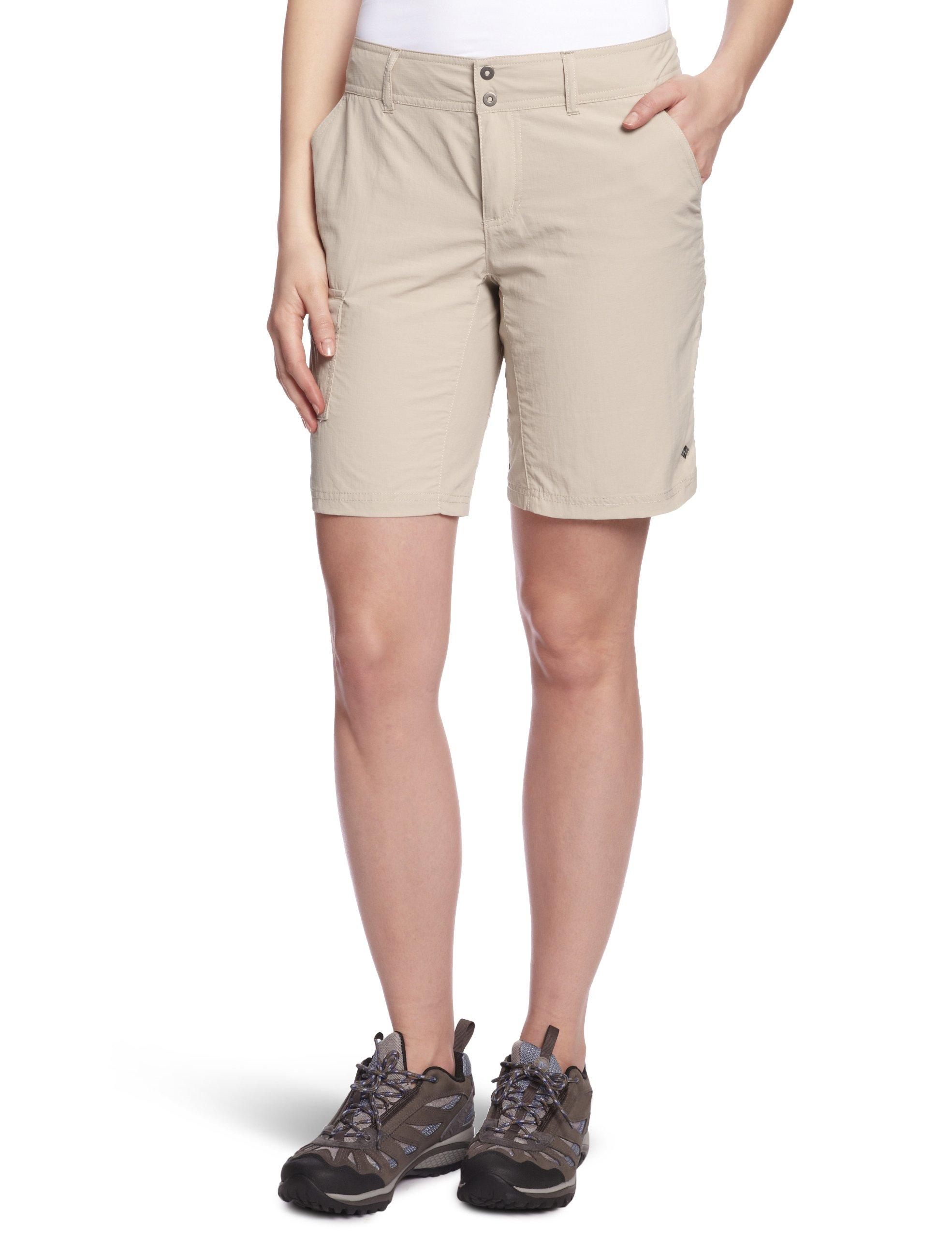 Columbia Women's Silver Ridge Short, 8x9, Fossil