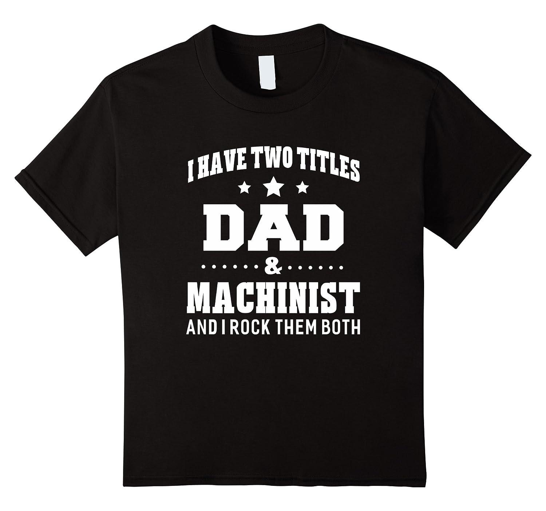 Titles Machinist T Shirt Men Medium-Awarplus
