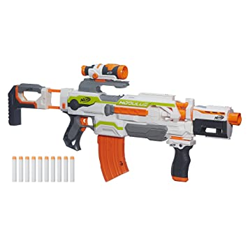 Amazon Nerf N Strike Modulus Ecs 10 Blaster Toys Games