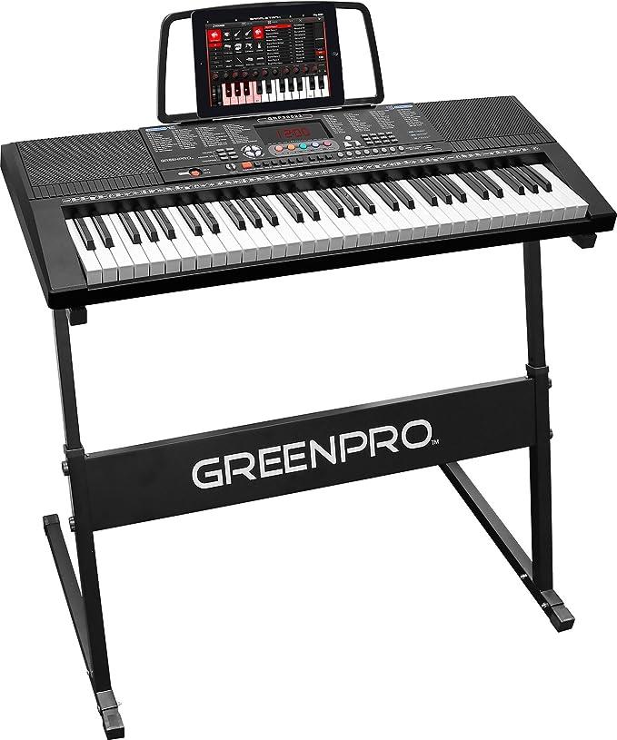 GreenPro 61 Key Electronic Piano Keyboard