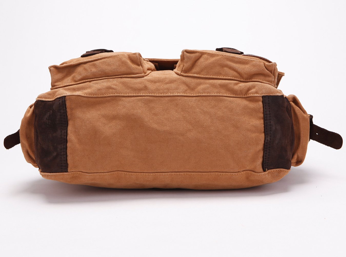 256fcdf47f ... Berchirly Vintage Military Men Canvas Messenger Bag 17.3Inch Laptop  SOLO MB0007AGXL ...