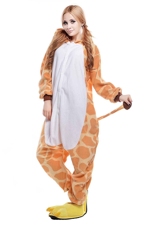 sc 1 st  Amazon.com & Amazon.com: NEWCOSPLAY Giraffe Halloween costume: Clothing