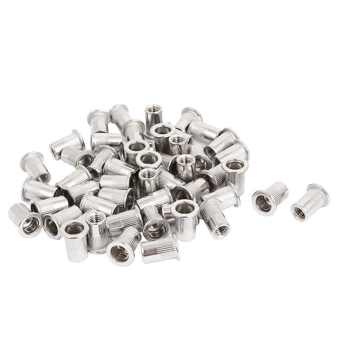 M8 Thread 304 Stainless Steel Rivet Nut Rivnut Insert Nutsert 30pcs HARDWARE WORLD