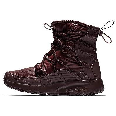 new style 0326d cfb46 Nike WMNS Tanjun High Rise, Chaussures de Randonnée Hautes Femme,  Multicolore Burgundy Crush 600