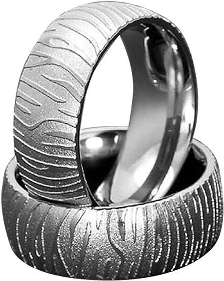 FlameReflection 7mm Mens Titanium Ring Wedding Band Brushed Top Greek Key Design Comfort Fit Size 6-13 SPJ