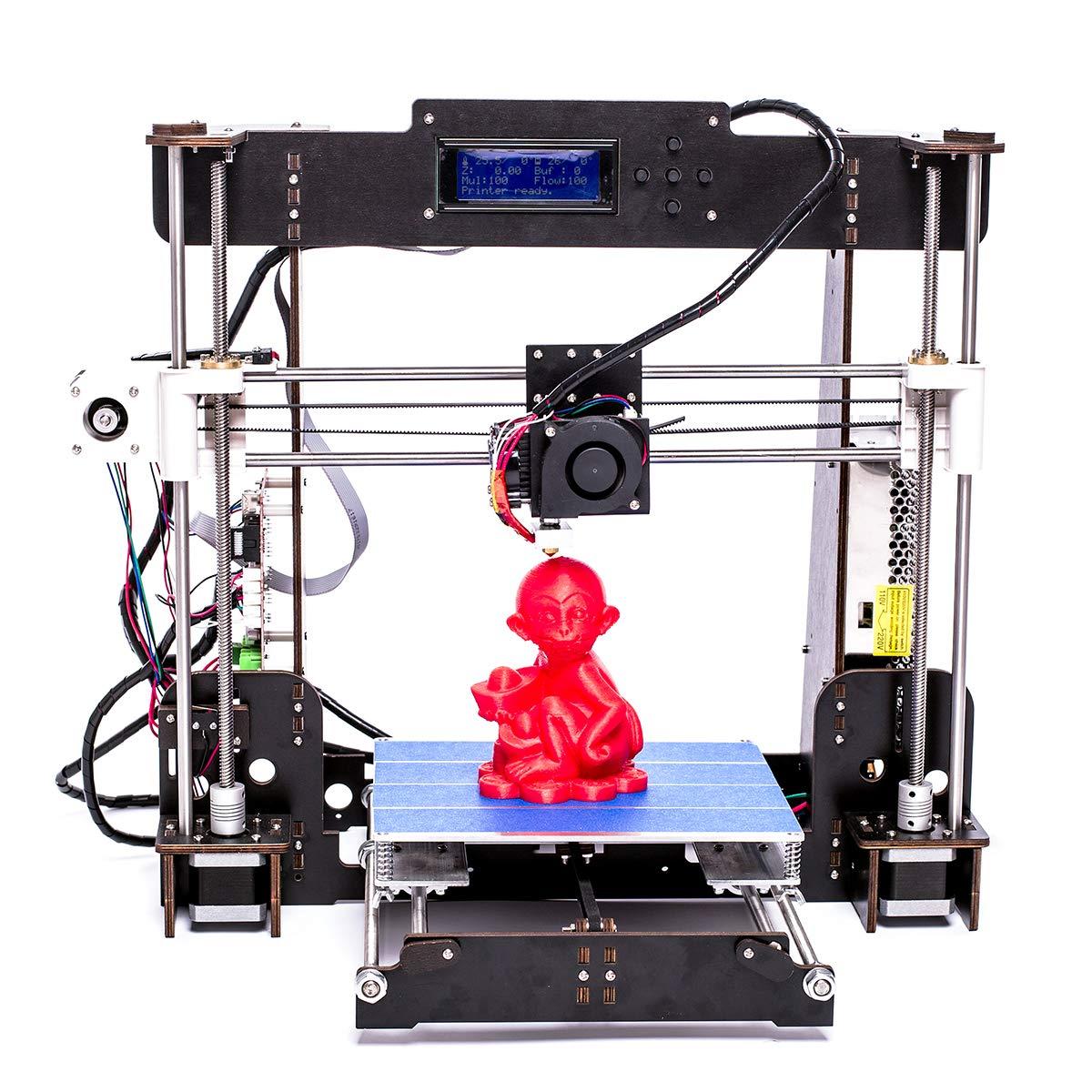 Imprimante 3D A8 MK8 Extruder Kit De Mise à Niveau De l'imprimante 3D Filament d'imprimante ABS/PLA 1.75 mm (A8) 3D Prima