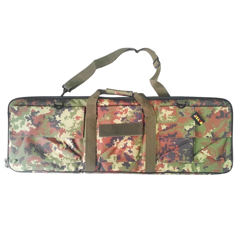 Funda rifle portaequipajes para caza airsoft Militar MultiCam 88 cm Royal Vegetato Area Shopping