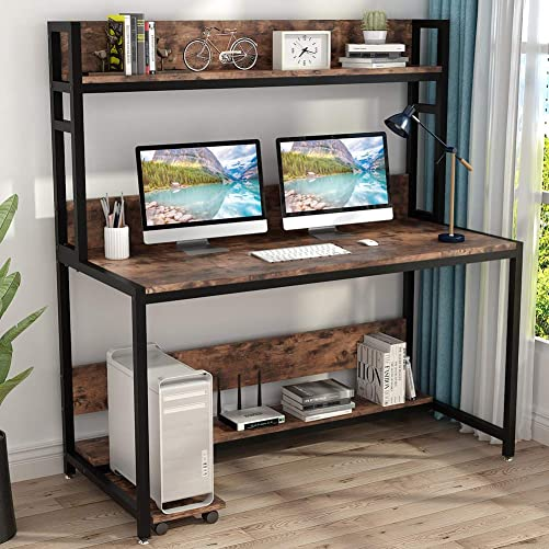 Tribesigns 55 Inches Large Computer Desk