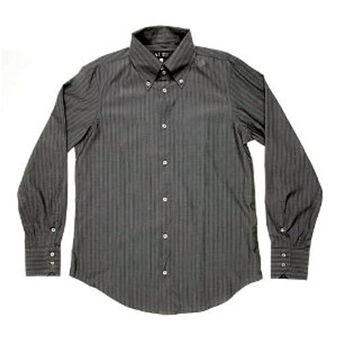 Armani Jeans - Camisa Casual - para Hombre Verde Green Fly XX-Large: Amazon.es: Ropa y accesorios