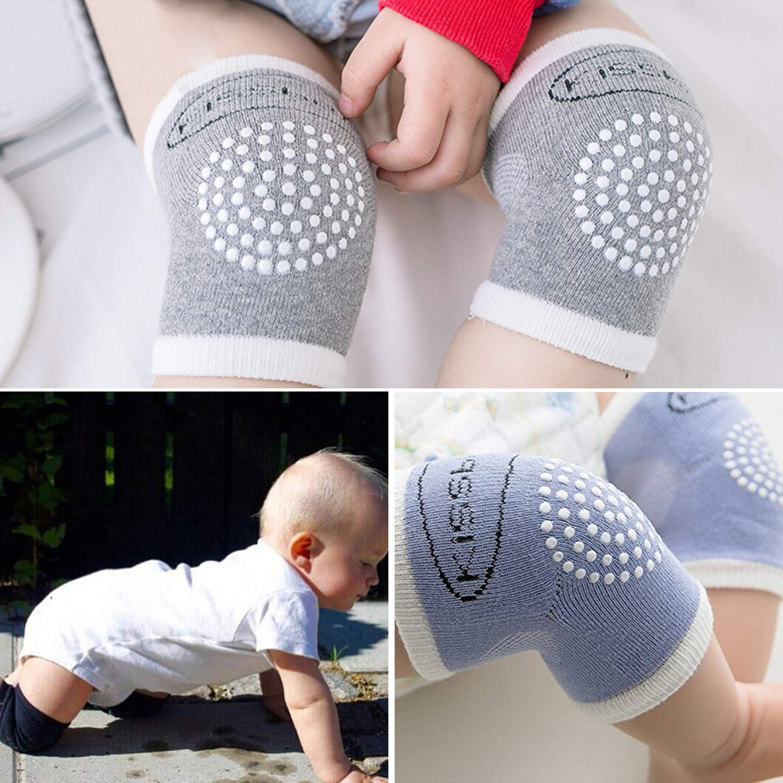 Amazon.com: 3 pares de calcetines antideslizantes para bebé ...