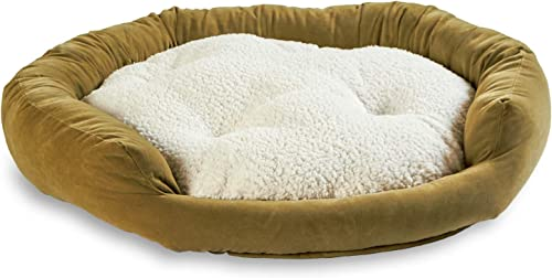 South Pine Porch Maddie Donut Dog Bed with Removable Center Pillow