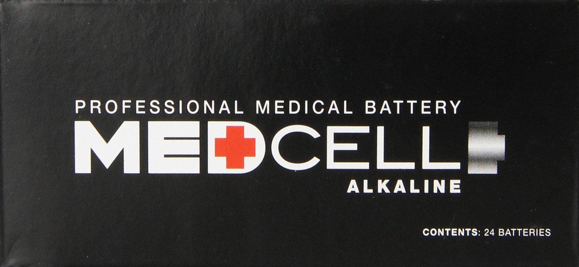 Medline Medcell Alkaline Batteries, 144 Count