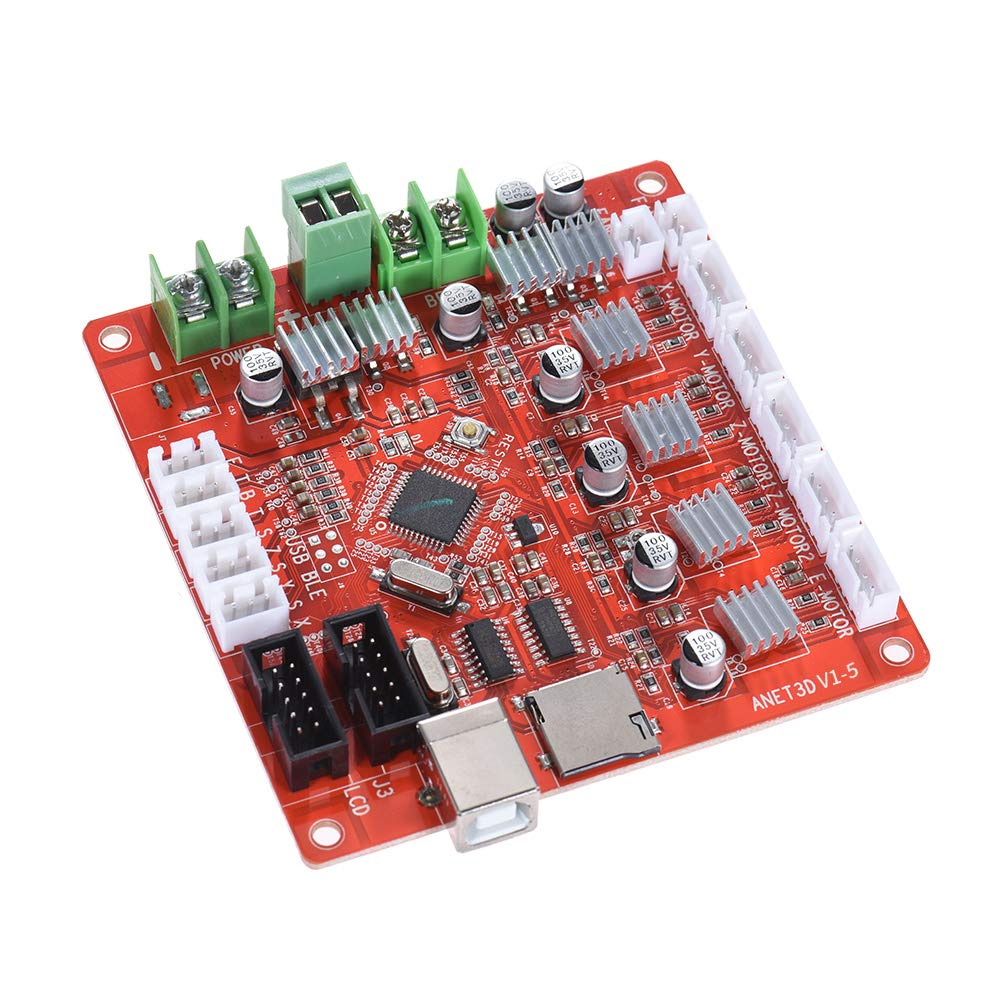 ANET A8 Mainboard Upgraded Replacement Controller Board V1.5 Motherboard 12V-24V for ANET A8 Prusa i3 3D Printer