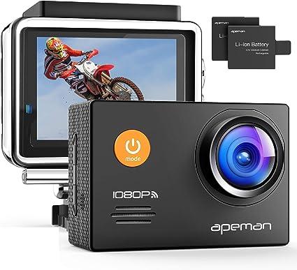 Apeman A70 Action Cam 1080p Full Hd Wifi 14 Mp Camera Photo
