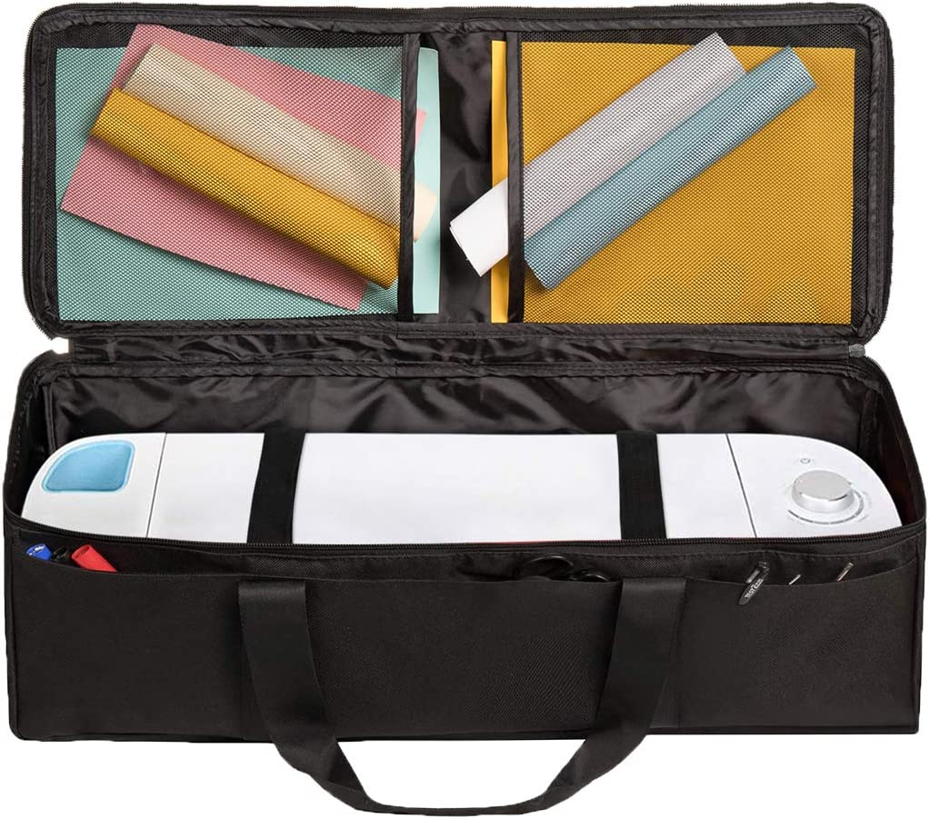 compatible avec Cricut Explore Air et fournitures 1+1 Noir Cactiye Sac de transport /étanche compatible avec Cricut Explore Air et Maker