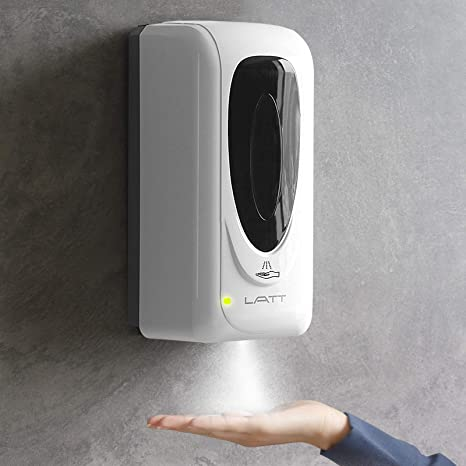 SLEEK DESIGN TOUCH-FREE INFRA RED SMART SOAP AND  DISPENSER