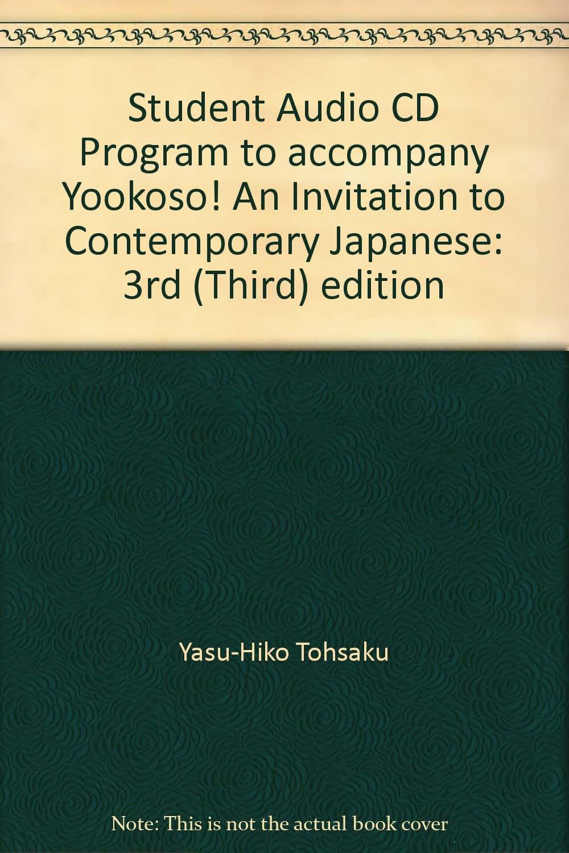 9780072408157: yookoso! : an invitation to contemporary japanese.