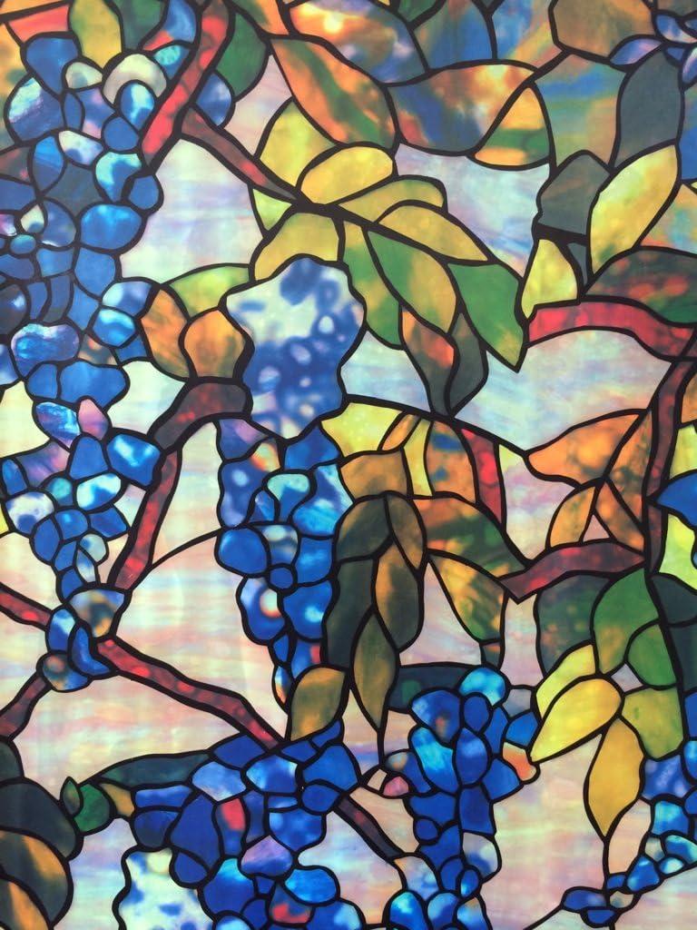 Amazon 窓目隠し 窓ガラスフィルム ガラスシート ステンドグラス 風 窓フィルム 窓ステッカー A Diy 工具 ガーデン