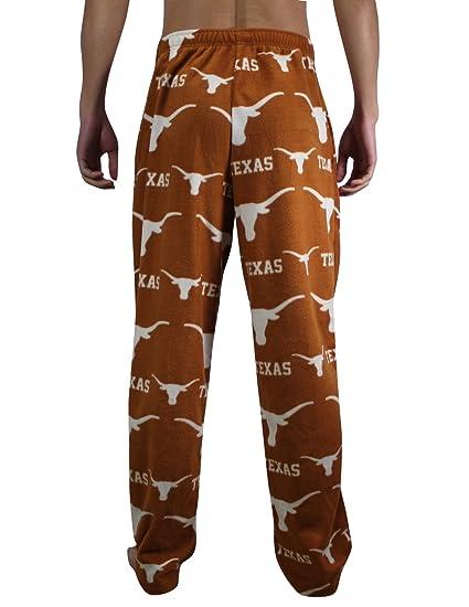 NCAA Texas Longhorns Mens/pantalones de pijama pijamas forro Polar Marrón marrón Talla:mediano: Amazon.es: Deportes y aire libre
