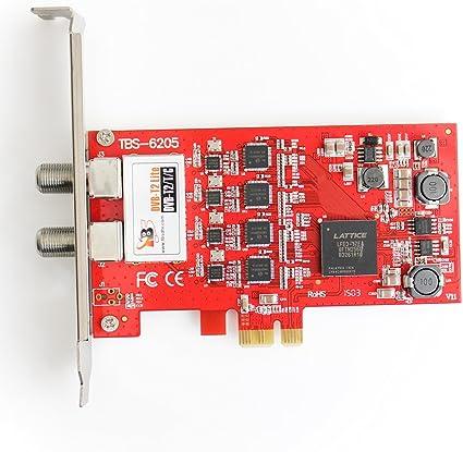 TBS DVB-T2/T/C sintonizador de TV digital Freeview Quad PCIe ...