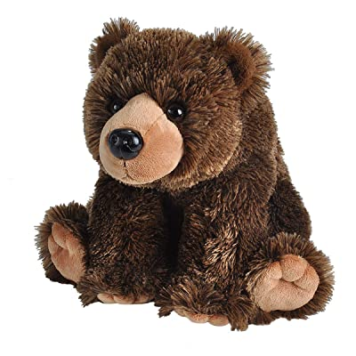 Wild Republic Grizzly Bear Plush, Stuffed Animal, Plush Toy, Gifts for Kids, Cuddlekins 12 Inches, Model:12832: Toys & Games