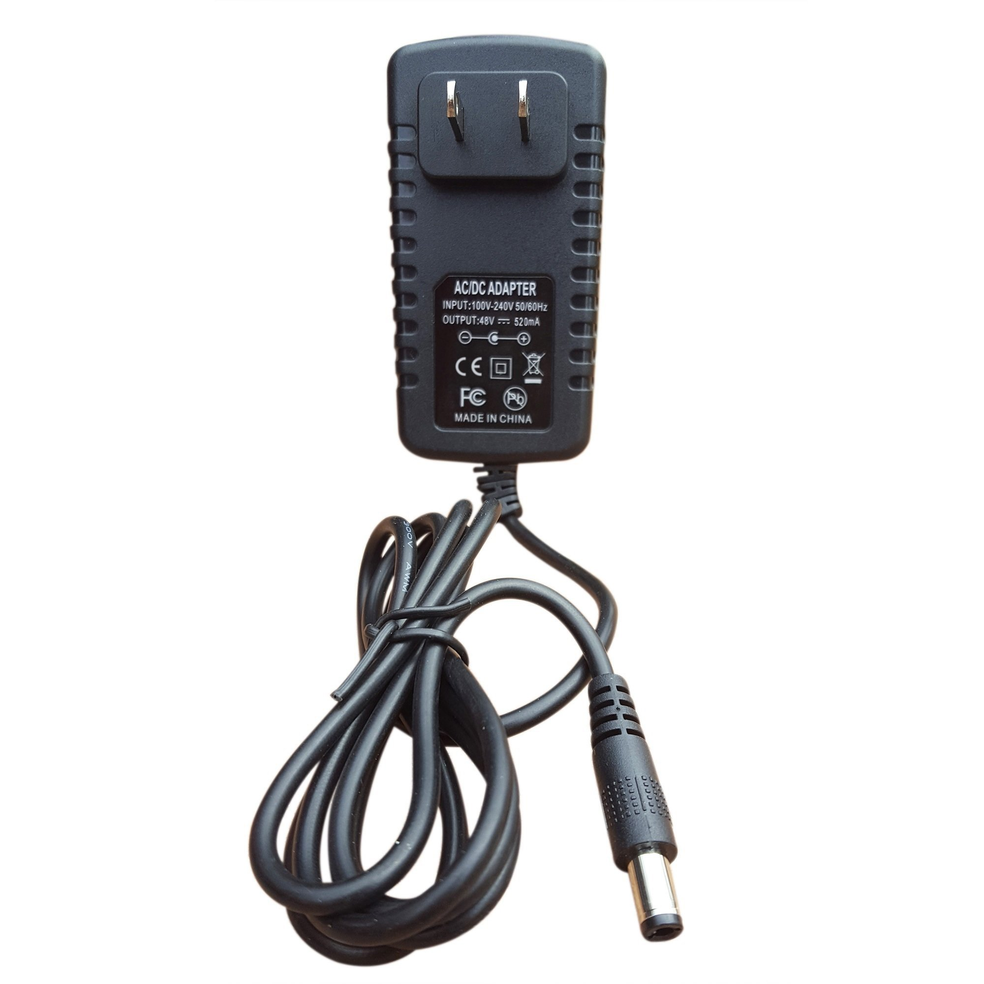 NeuPo 48 Volt Power Supply (25W)   Compatible with Nortel - Avaya IP Phones 1110, 1120e, 1140e, 1210, 1220, 1230 and Polycom VVX 500, 501, 600, 601   VOIP Power Adapter for Avaya 1100 & 1200 Series by NEUPO