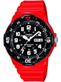 Casio Herren-Armbanduhr XL Analog Quarz Resin MRW-200HC-4BVEF