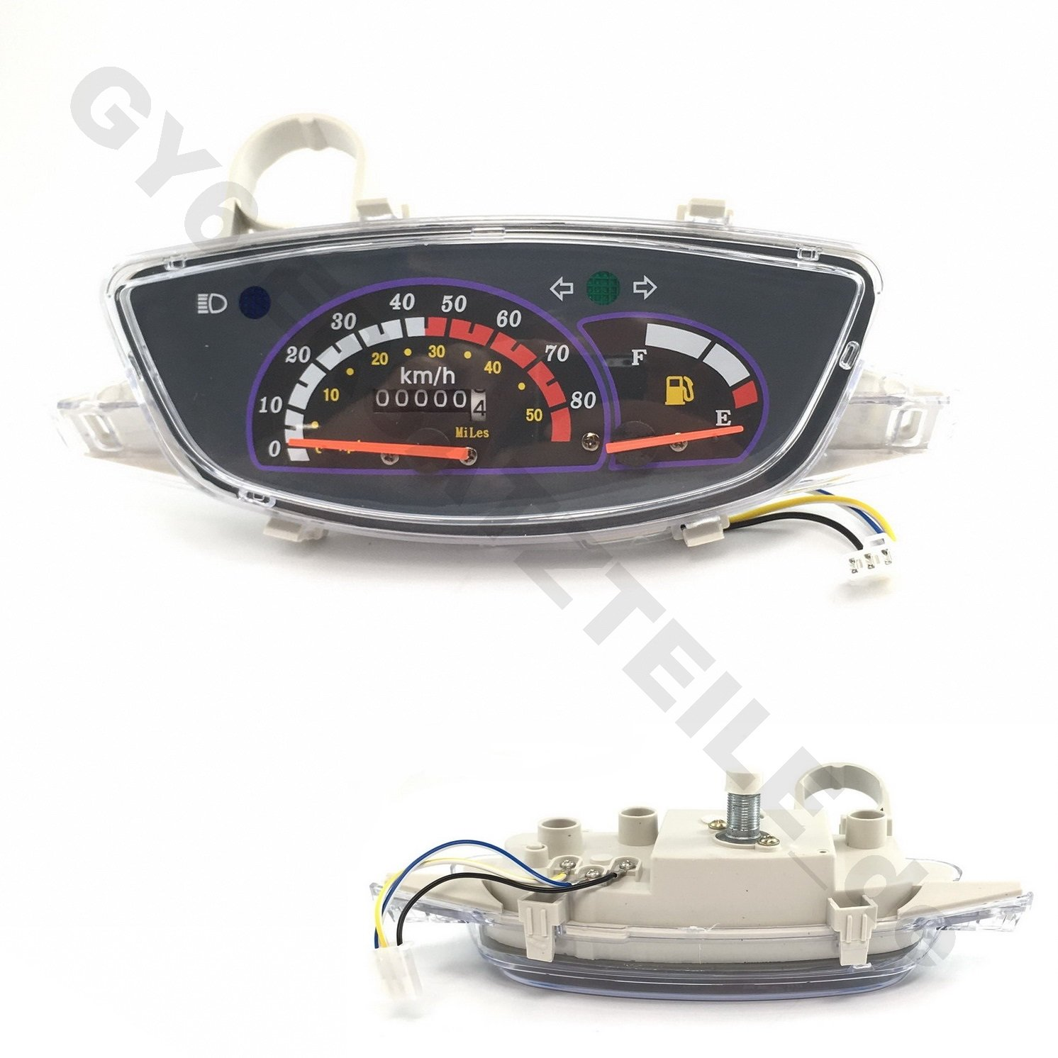 YunShuo COCKPIT Tacho Tachometer F/ÜR REX CAPRIOLO RS 450 RS 500