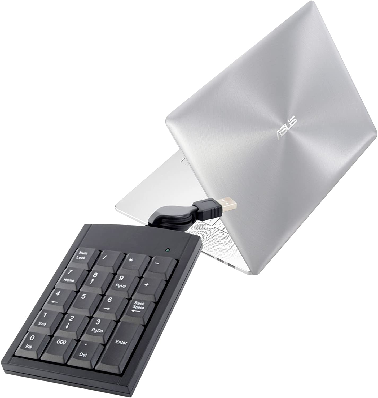 Teclado numérico USB para ordenador portátil Asus Premium ...