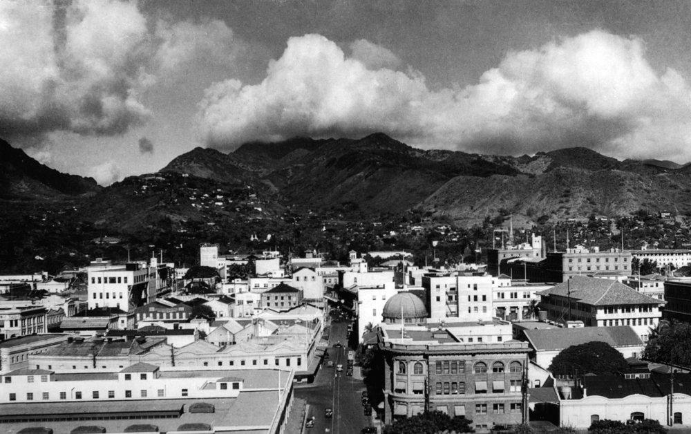 ホノルル、Ha – View of city from Alohaタワー写真 36 x 54 Giclee Print LANT-7990-36x54 B01M9EENPX  36 x 54 Giclee Print
