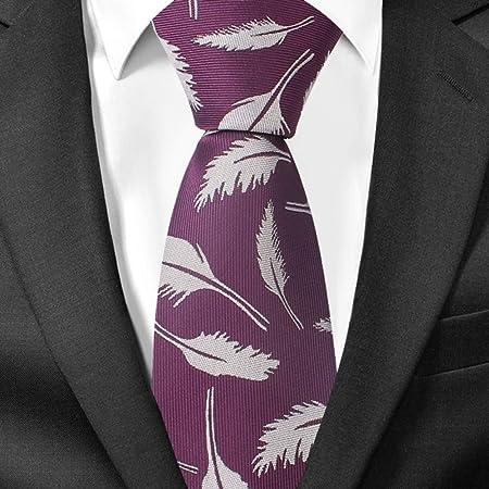 VGYUAS Corbata Corbatas Florales para Hombres Corbata para Hombre ...