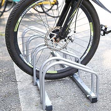 Aparcamiento para bicicleta soporte para aparcar 4 bicicletas suelo y pared montaje: Amazon.es: Iluminación