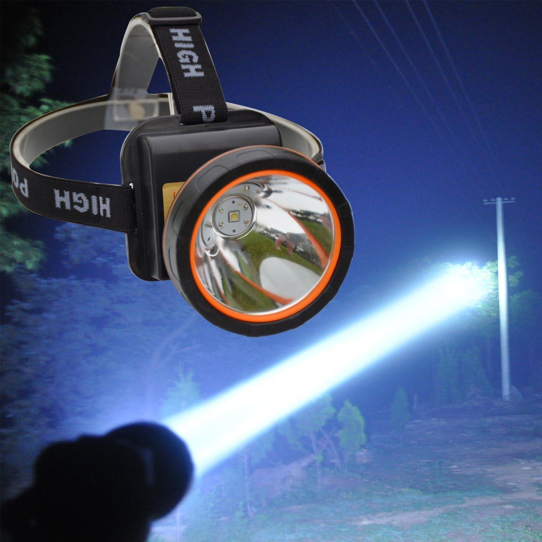 Headlamp Headlight Mining USB Rechargeable Fishing Hiking Camping Outdoor