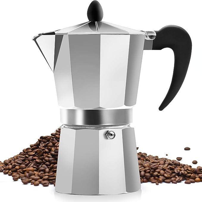 Zulay Kitchen Classic Stovetop Espresso Maker