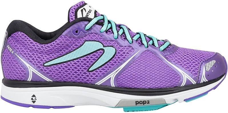 Newton Running Womens Fate II Running Shoe, Zapatillas Mujer, Morado (Purple/Blue), 43 EU: Amazon.es: Zapatos y complementos