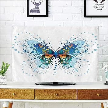 Funda para televisor LCD diseño de Mariposas, 5 Mariposas ...