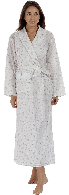 The1forU 100/% Cotton Vestaglia Vestaglia da Casa Abigail
