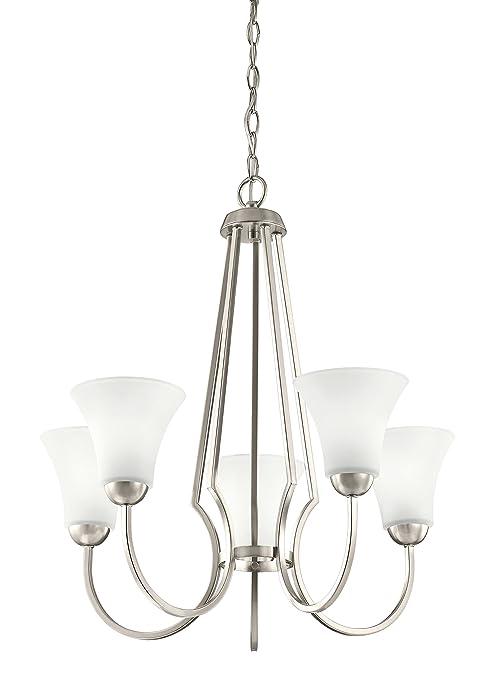 Amazon.com: Kichler 48111 ni de transición 5-Light lámpara ...