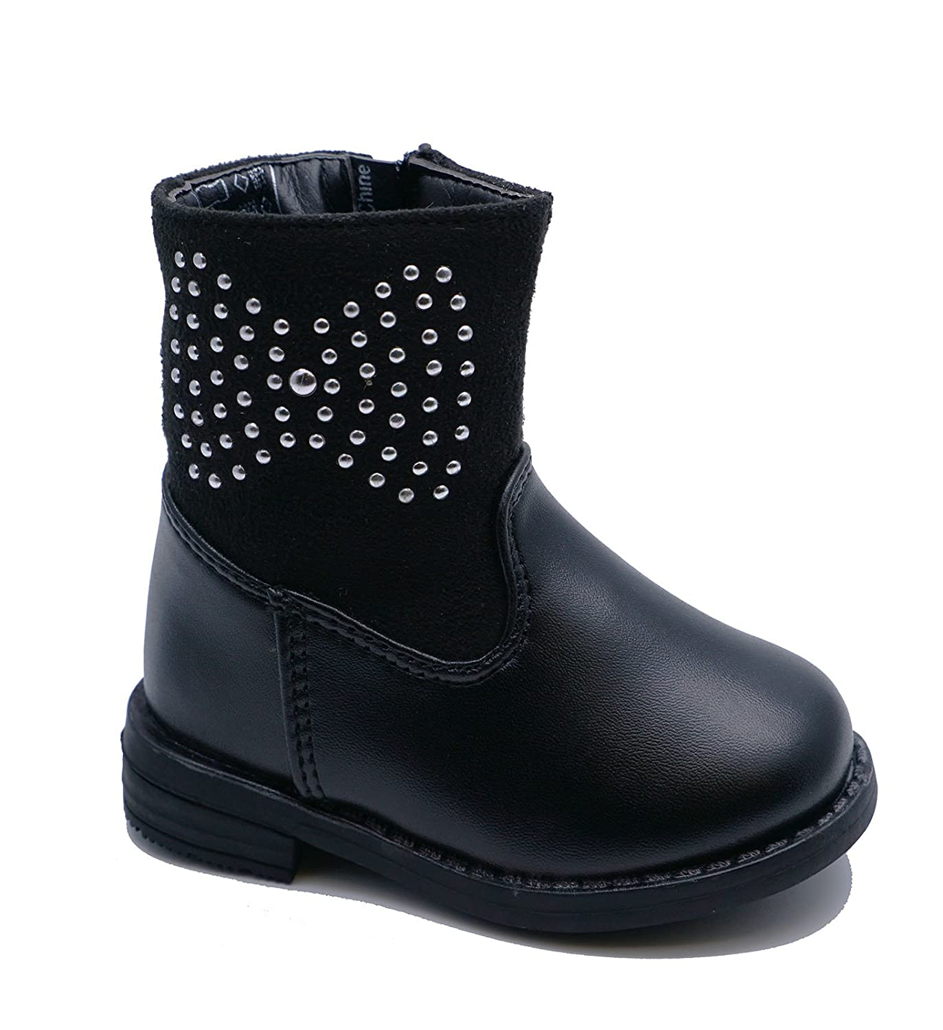 Girls Kids Childrens Infants Diamante Warm Winter Ankle Boots Shoes Pumps  Sizes 3-7: Amazon.co.uk: Shoes & Bags