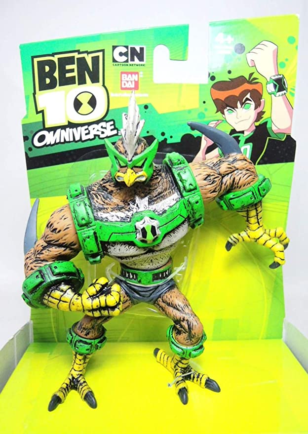 Ben 10 Omniverse Kickin Hawk Vinyl Figure: Amazon.es ...