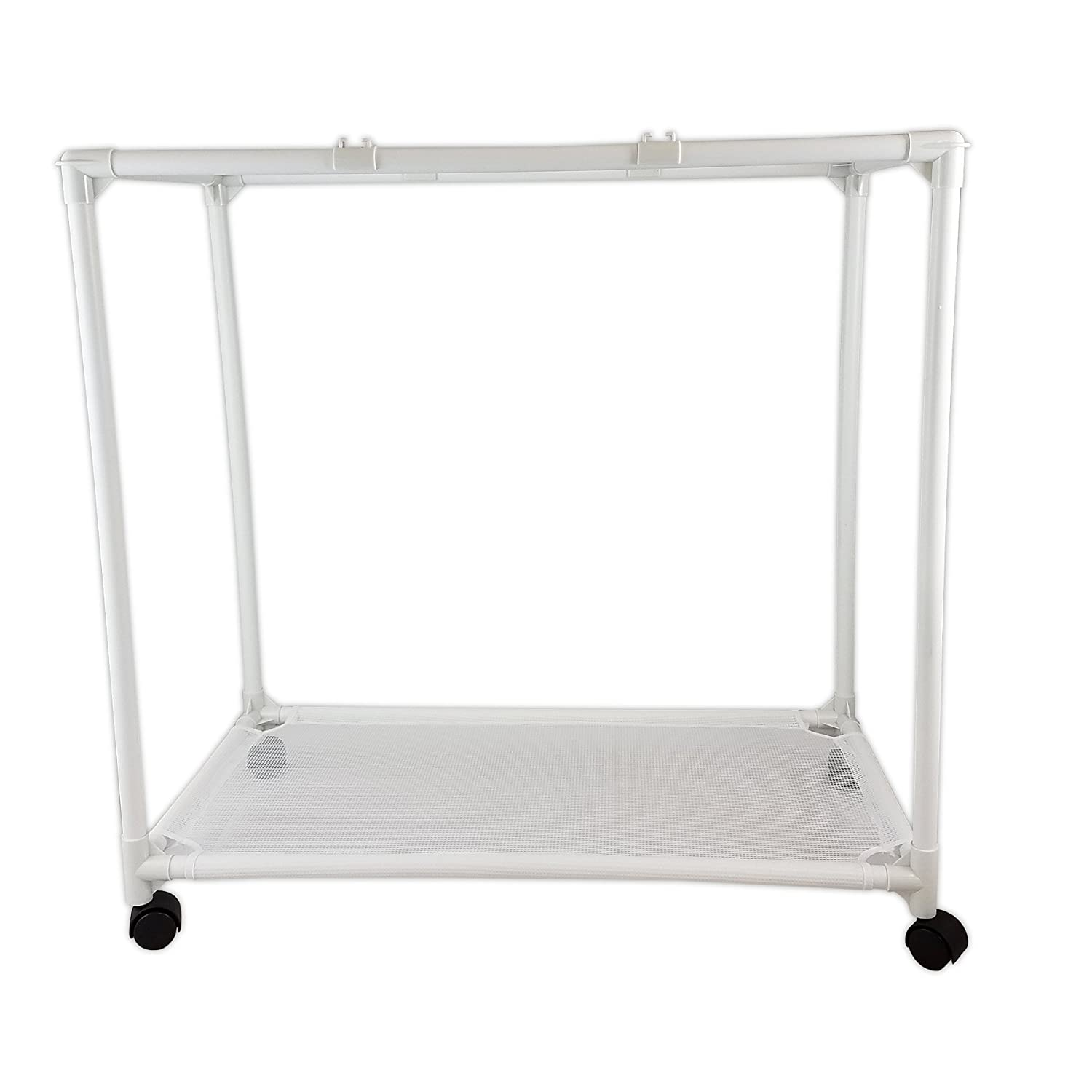 Amazon.com: Homz Triple Clothing Sorter with Wheels, 3 Removable ...