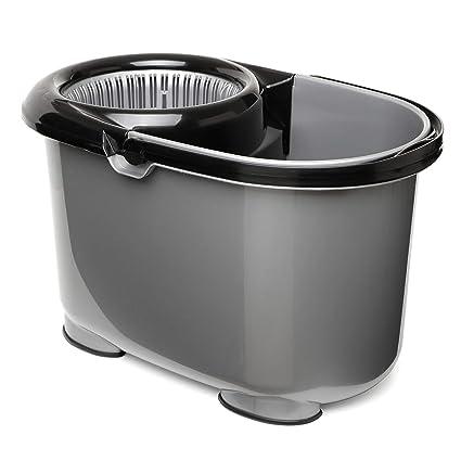 TATAY Twister Cubo de Fregar con Sistema de Escurrido Automático 360º, Capacidad para 12 l