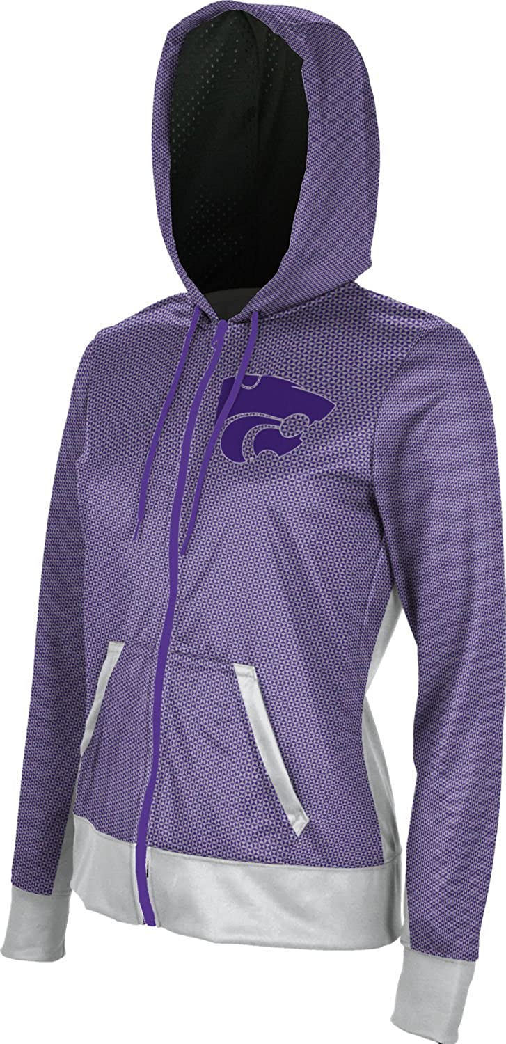 School Spirit Sweatshirt Embrace Kansas State University Girls Zipper Hoodie