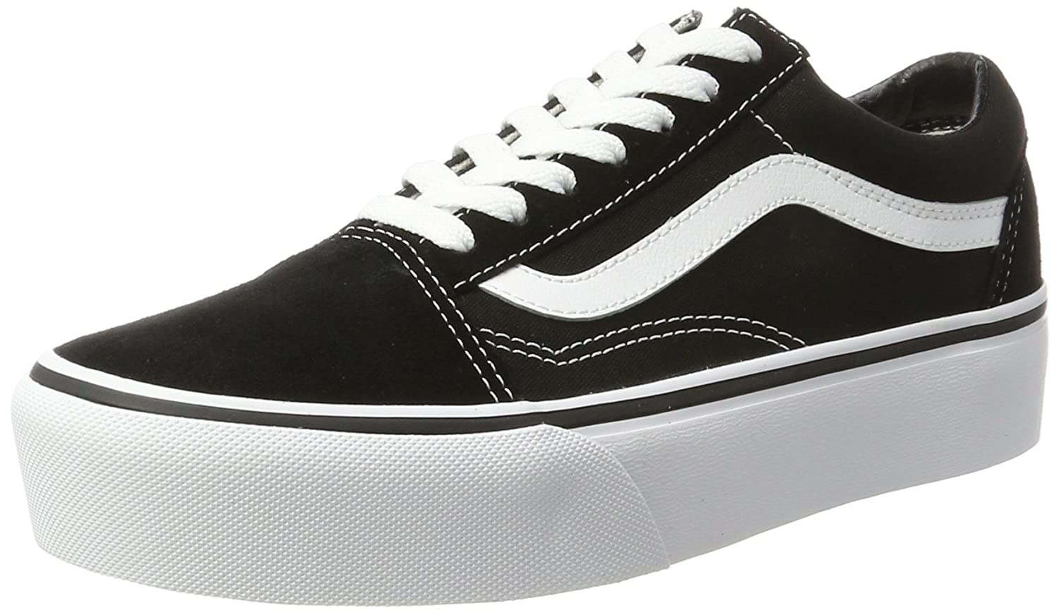Vans Women s s Old Skool Platform Trainers  Amazon.co.uk  Shoes   Bags 36454274a