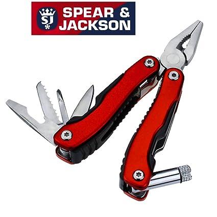 Spear & Jackson – multifunción herramienta de bolsillo – 7 herramientas en uno – Alicates de