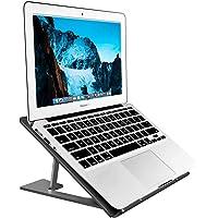 Aluminum Laptop Stand Adjustable, Compatible with Apple Mac MacBook Notebook, Ventilated Portable Ergonomic Desktop…