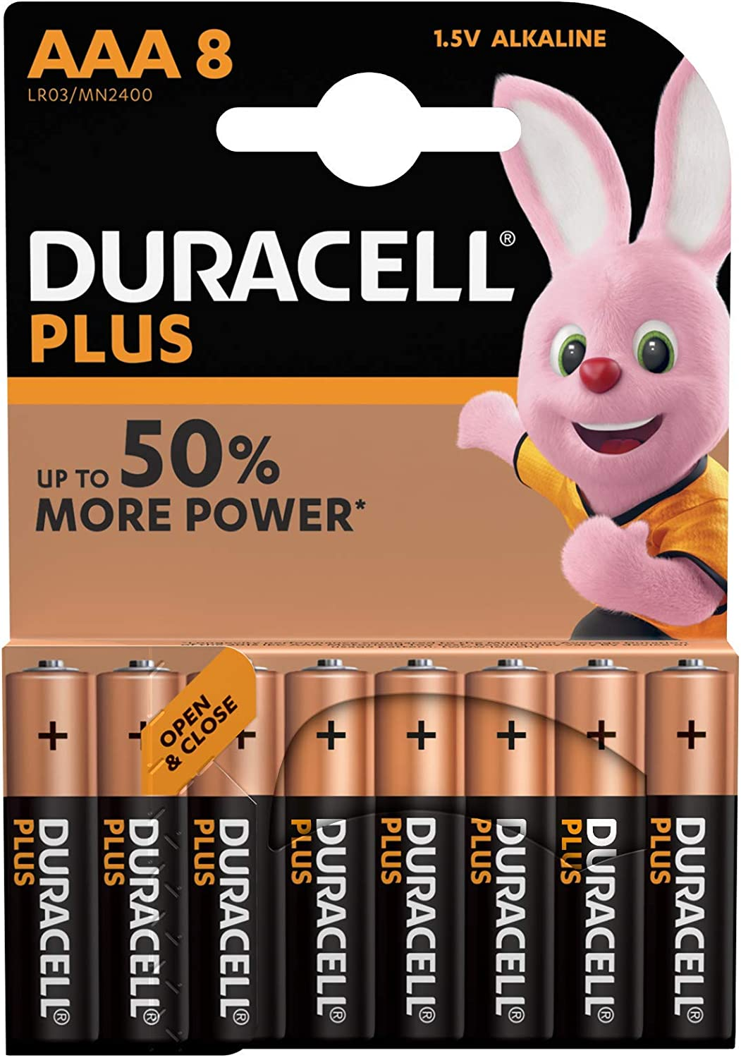 Duracell Battery Plus Micro Aaa 1 5 V In Special Pack Elektronik